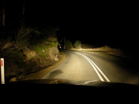 движение в темноте