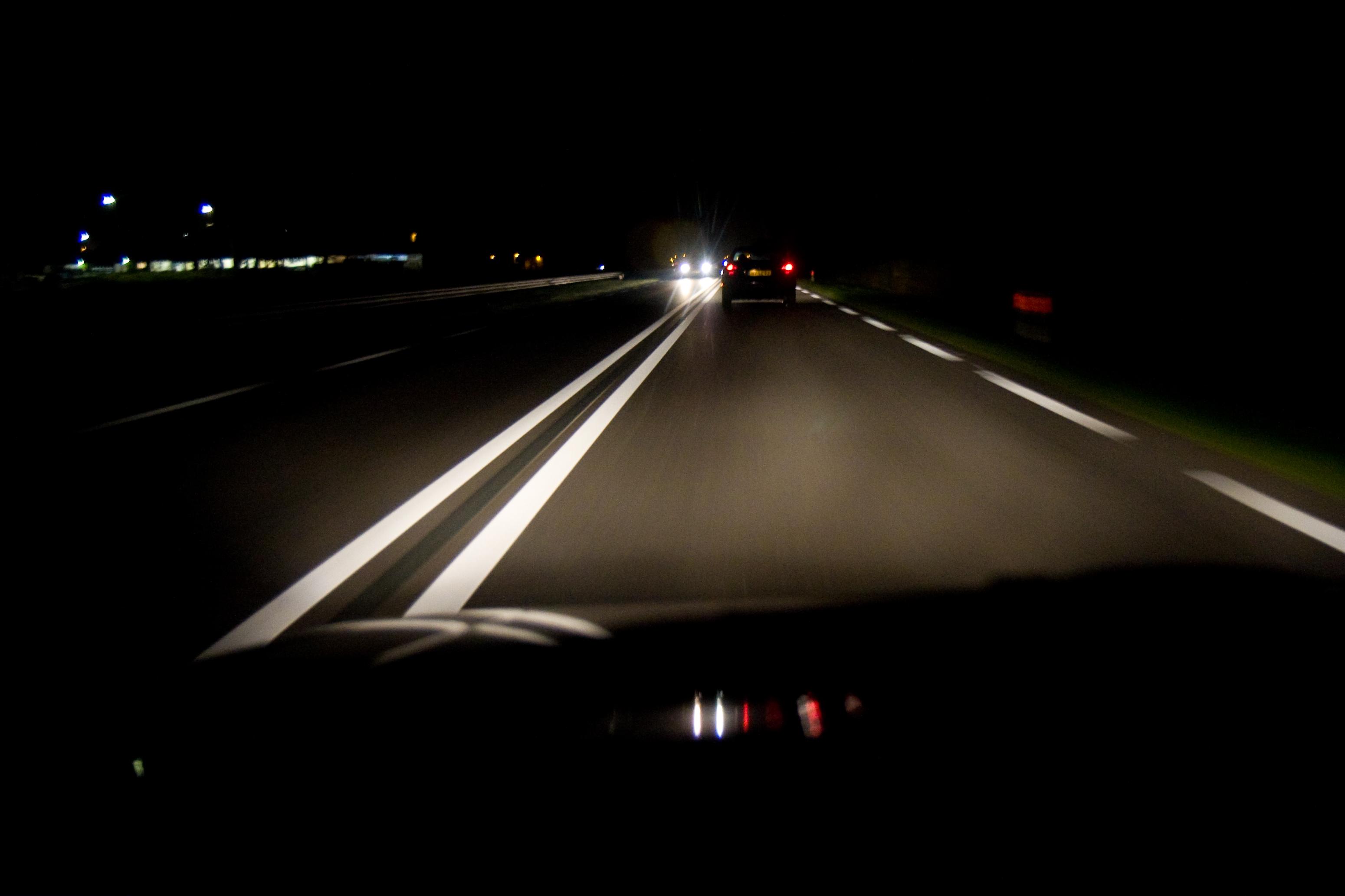 движение ночью