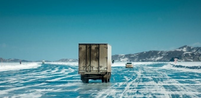 переправа на льду